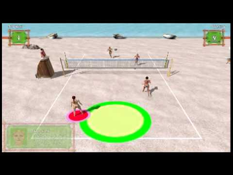 Beach volley hot sports game free download.