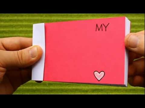 Valentine's Day Flip Book (My Heart Beats Only For You)