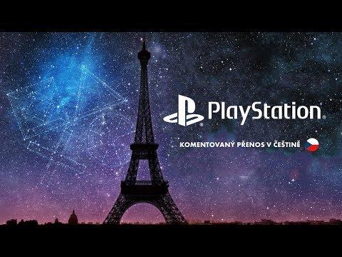 PlayStation Media Showcase   Paris Games Week 2017   Český přenos