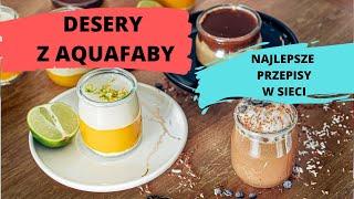 HIT!!! 3 najlepsze desery z Aquafaby  | Ugotowani.tv