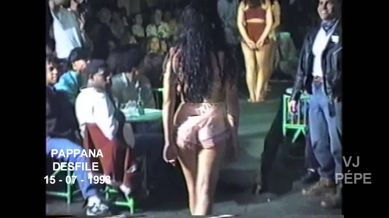 Pappanã desfile - 1993 Mauricio e Dj Pépe Scarceth