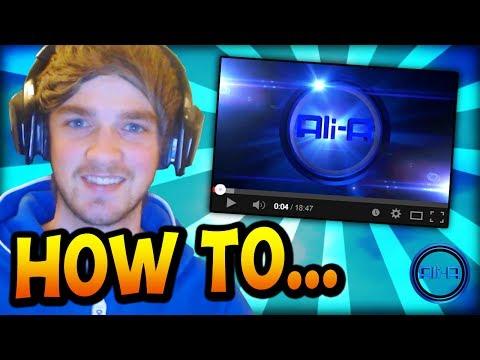 Ali-A - How I make my YouTube videos! =)