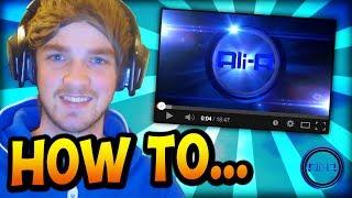 ali a how i make my youtube videos