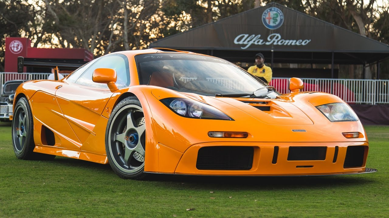 INSANE McLaren F1 LM - Start Up, Revs & Driving! - YouTube