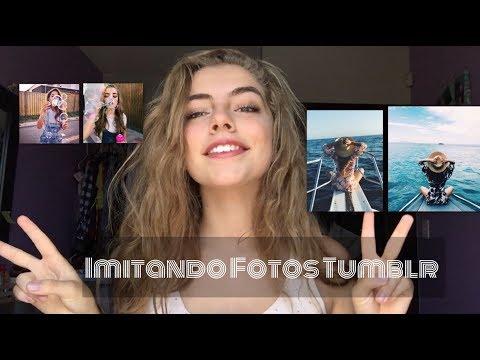 Imitando fotos Tumblr❤️   Daniela Alfaro