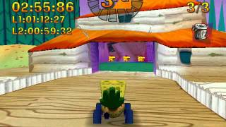 Nicktoons Racing (2000) Gameplay