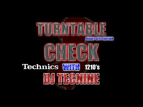 Turntable Doctor DJ Tecnine Cutting, Scratching, Transforming - New Jersey