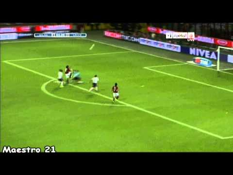 Highlights AC Milan 4-0 Lecce - 29/08/2010 Arabic Commentary