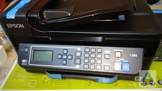 EPSON L565 Printer Unboxing & Specifications : Multifunctional Inkjet Color Printer