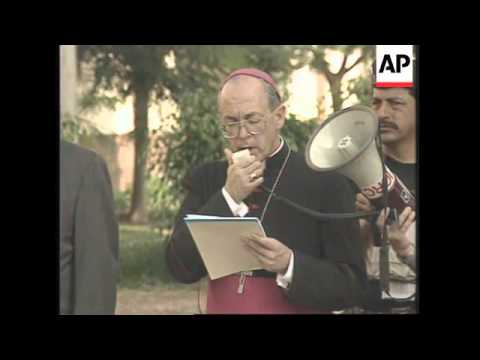 PERU: LIMA: HOSTAGE CRISIS: GOVERNMENT & REBELS CALL OFF TALKS