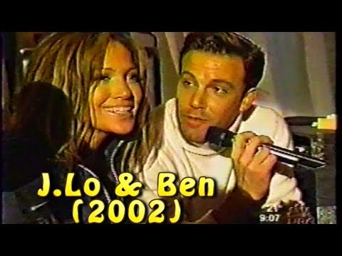 J.Lo & Ben Affleck Interview Answer Marriage Questions (2002)
