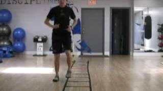 London, Ontario Hockey Training - Agility Ladder Forward To Backward Icky