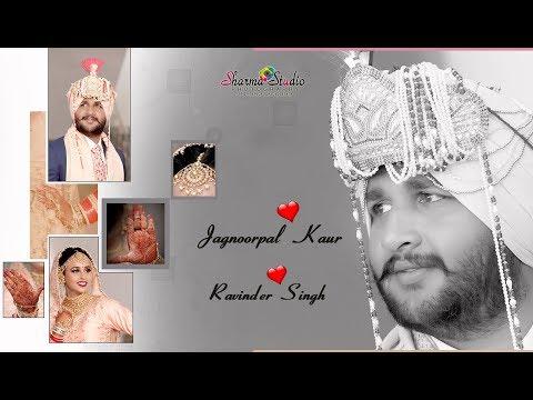 Jagnoor & Ravinder Best Punjabi Sikh Wedding Lipdub Highlight  Sharma Studio Dhariwal 9803800999