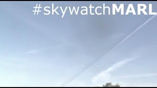 ►CHEMTRAIL SHADOW ACTION -  7th June 2014 | Marl, Germany