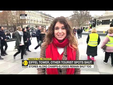 Yellow Vest Protests: Paris on lockdown as anti-Macron puts France on edge