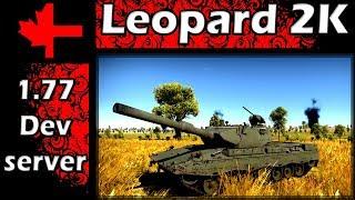 War Thunder - Dev Server - Update 1.77 - Leopard 2K
