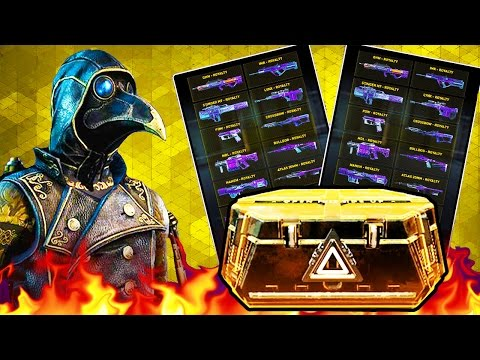 I PULLED 85 ELITES & 4 ROYALTIES! - HUGE Advanced Supply Drop LIVE OPENING! (COD AW)
