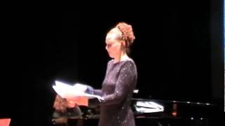 Svetlana Priimak: Le chant du veilleur - Joaquin Nin