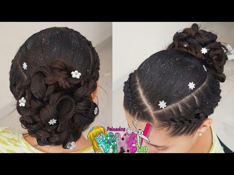Peinado Recogido Para Grados O Eventos Formales Facil Peinados