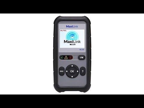 Autel Code Reader Maxilink ML529 Upgraded Of AL519 OBD2