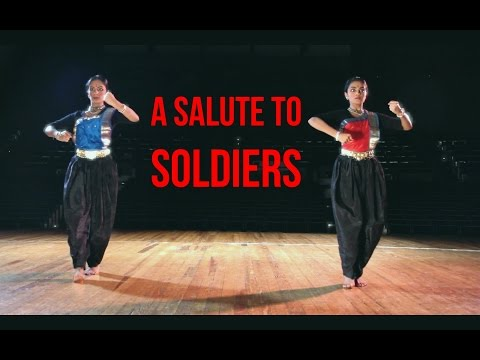 A Salute to Soldiers : Bharatanatyam