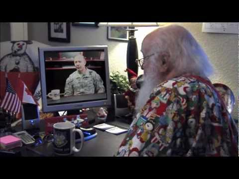 Headquarters NORAD Holiday Message 2012