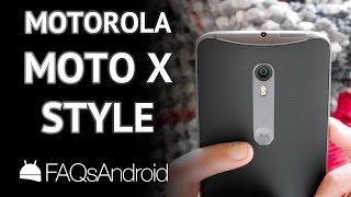 Motorola Moto X Style: análisis y opiniones en español