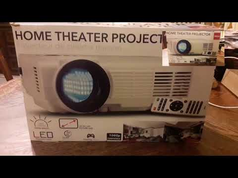 RCA RPJ116 Home Theater Projector Review - YouTube