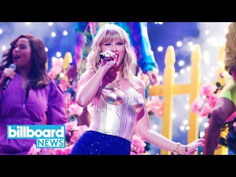Taylor Swift Unveils 'Lover Fest' Concerts, European Tour Dates | Billboard News