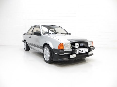 A Stonking Strato Silver Ford Motorsport Developed Escort RS1600i with 68,711 Miles - SOLD!