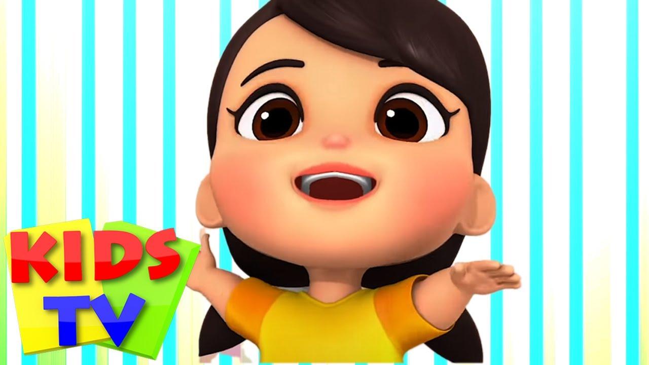 Cinco pequeños bebés   Educación para niños   Kids TV Español Latino   Preescolar   Música infantil