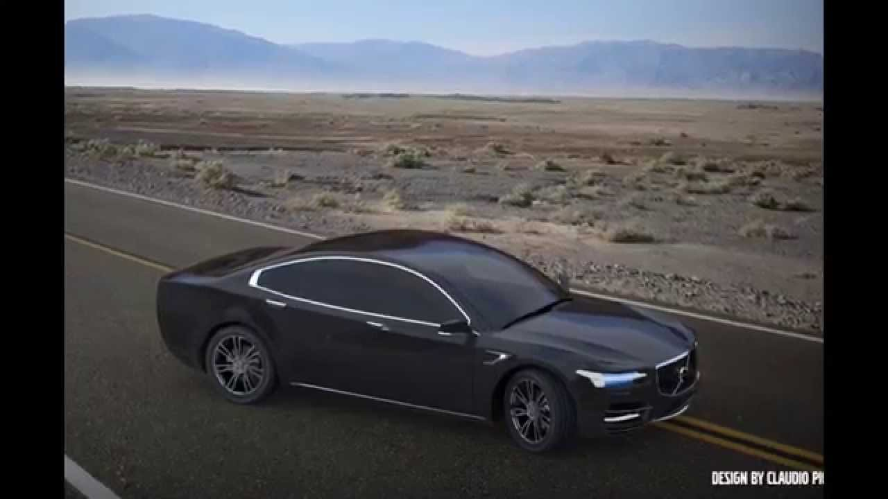 New Volvo S90 S100 2016 Car Body Surface Design With The