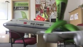 Nem Csak Rizsa - Egy hónapja repül az Air China Budapestről