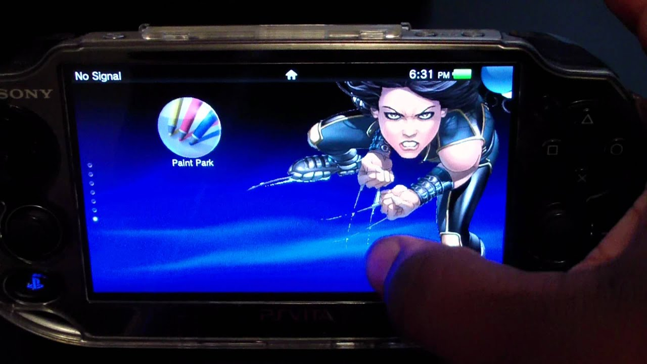 new ps vita themes with moving backgrounds - youtube