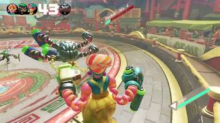 ARMS | Nintendo Switch | Momentos | ¡Headlock, iba a hacerme un PERFECT!