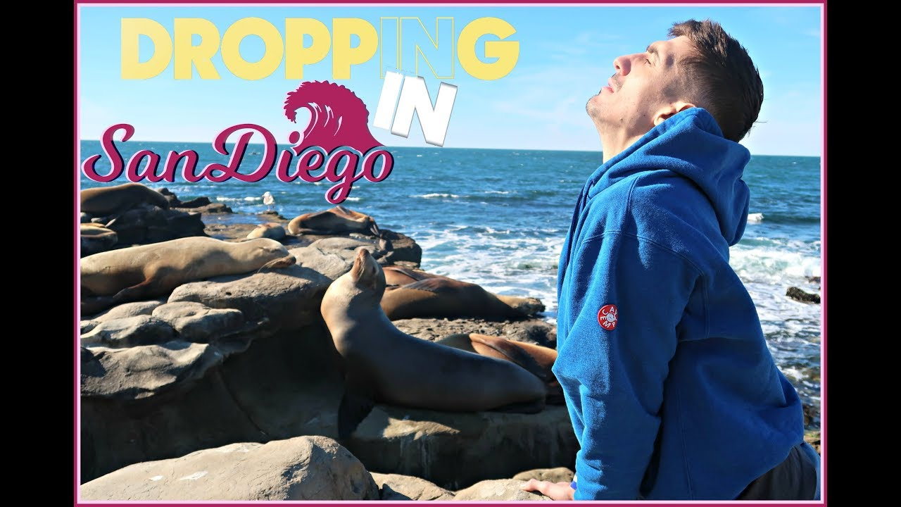 Crowds with Ebola and Sea Lion Yoga in San Diego | Dropping In #19 feat. Cipha Sounds