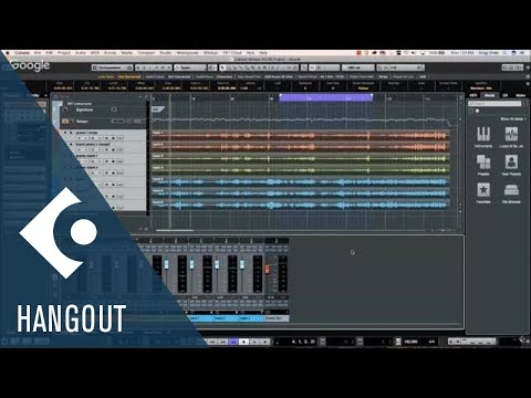 April 30 2018 Club Cubase Google Hangout