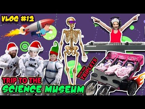 Family Trip to Science Center | WE LOST REY | DJ MOMMY MOM | Skeletons! (Vlog #13)