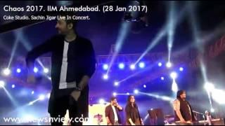 O Re Piya Sachin Jigar Live Concert Chaos 2017 IIM Ahmedabad | Coke Studio