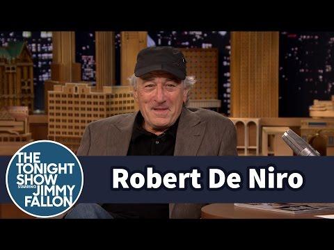 Robert De Niro s Off His Jimmy Fallon Impression