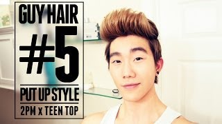 OK HAIR | PUT UP STYLE - 2PM x Teen Top Inspired