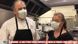 Le chef étoilé Guilhem Sevin propose un repas gastronomique pour Pâques