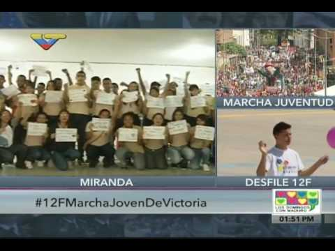 Maduro instó a estudiantes a seguir reportando problemas de sus liceos para irlos solucionando