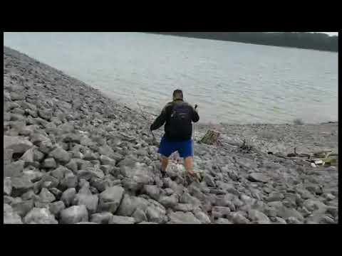 Skaitook Lake,oklahoma Out Fishing Hybrid And Walleye 2020