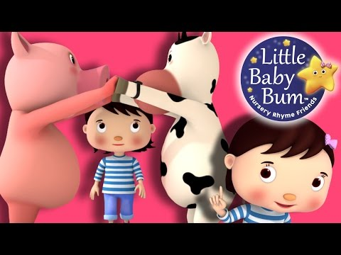 Oranges and Lemons | Nursery Rhymes | By LittleBabyBum!