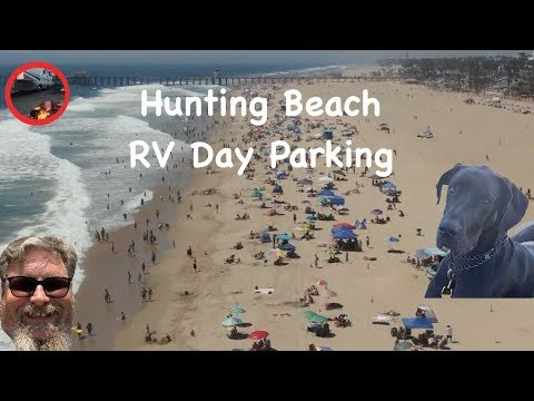 Huntington Beach Day Use RV Parking