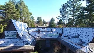 видео Битумная черепица Gaf Grand Sequoia