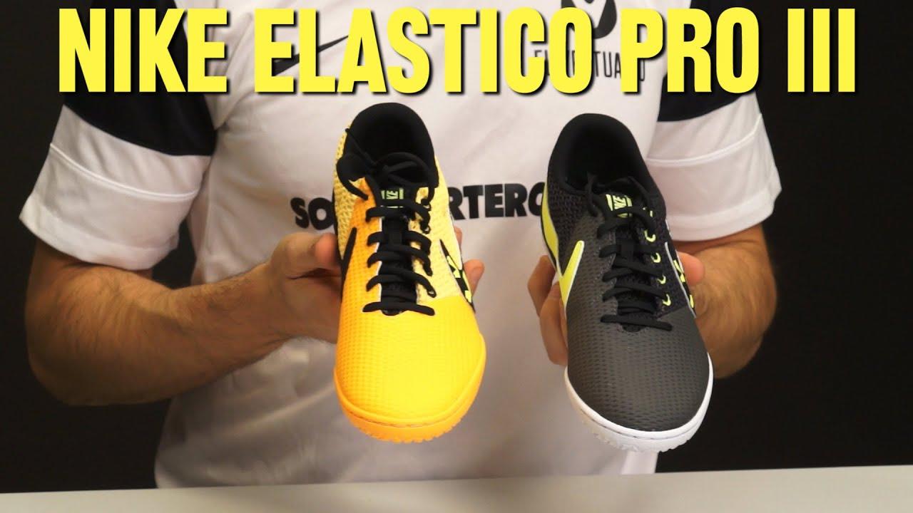 99f1f773f9f4d Review zapatillas Nike Elastico Pro III. Fútbol Emotion