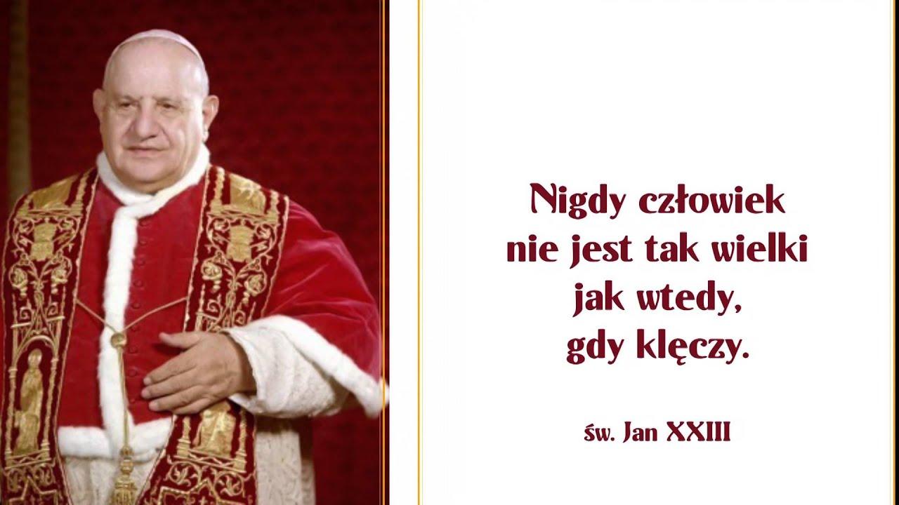 Tkb Myśli świętych Papieży 23052014
