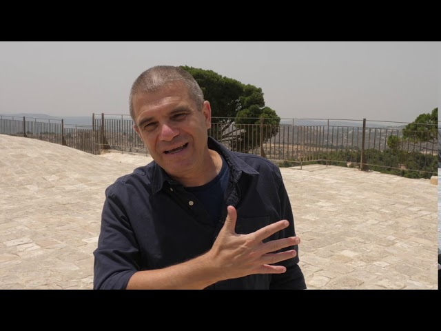 Brigadier- General (Res.) Gal Hirsch - Tour to Prophet Samuel's Tomb- Episode 4 - Part A